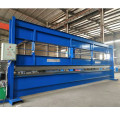 Metal roof sheet bending machine