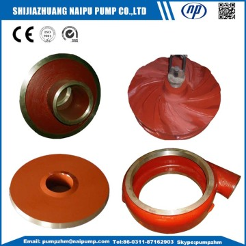 slurry pump throat bush