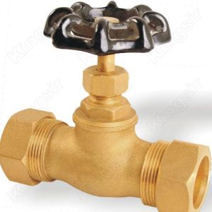 Factory making for Stop Valves Brass Stop Valve With Pipe Union supply to Saint Lucia Exporter