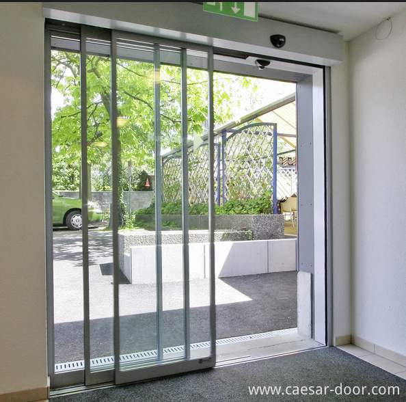 Telescopic Sliding Door Mechanism