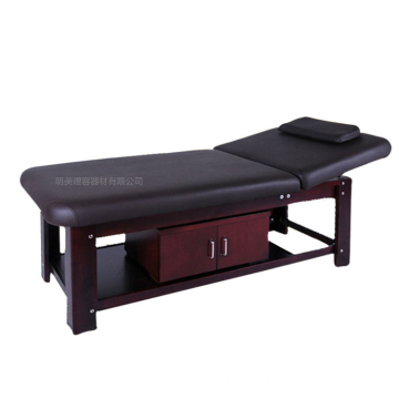 beauty salon furniture wooden facial bed massage table