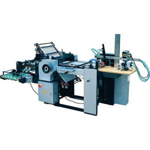 ZXHD490A Combination Folding Machine With Electrical Knife
