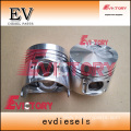 KOMATSU engine parts piston 4D95S piston ring