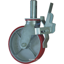 10'' Scaffolding Caster with Total Brake