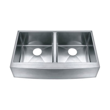332010R Undermount Hand Made Overlap Sink