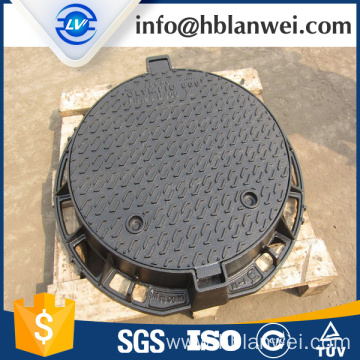 OEM for Cast Iron Circle Manhole Cover,Heavy Duty Ductile Manhole Cover Manufacturer in China double seals manhole cover export to India Factories