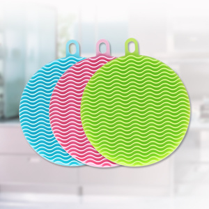 Special for Cooking Silicone Brush Magic Silicone Scrubber Kitchen Bowl Dish Sponge export to Spain Supplier
