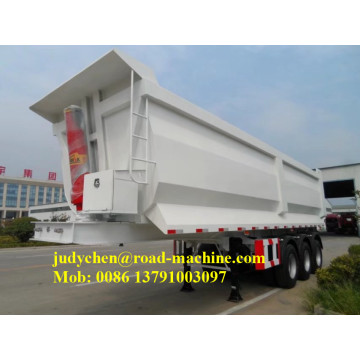 3 axles 40ton tipper dump semi trailer