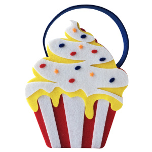 Free sample for for Birthday Party Packages Happy Birthday  Candy bag with cake shape supply to Japan Manufacturers