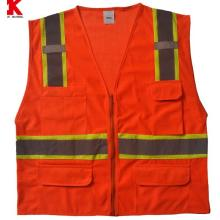 Roadway reflective warning clothing