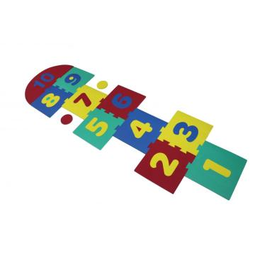 Melors Foam Puzzle Play Mat for Jummping Game 0-10 Early Education Play Mat Non-toxic