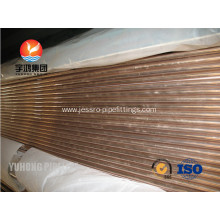 Customized for  Copper Nickel Pipes and Tubes ASTM B111 C70600 supply to Uganda Exporter
