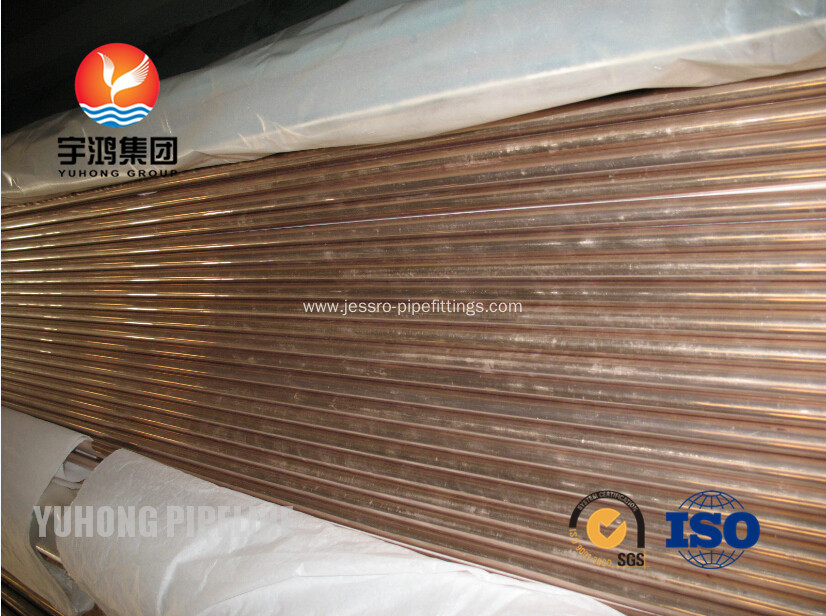 Copper Nickel Pipes and Tubes ASTM B111 C70600