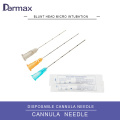 Blunt Needle Hyaluronic Acid Cannula