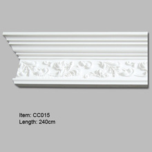 Quality for Polyurethane Carved Cornice Mouldings Russian Style Decorative Crown Moldings supply to India Importers