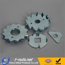 Supply for Zinc Plating Doggie Tooth Washers Steel Stamped Doggie Tooth Washers supply to Christmas Island Manufacturer
