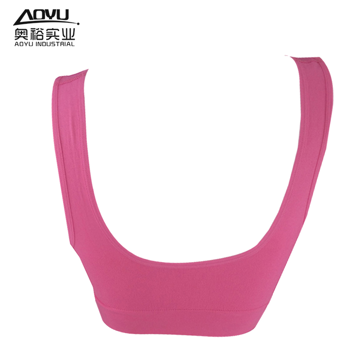 Wholesale Women Underwear Seamless Fitness Wear Bra Top