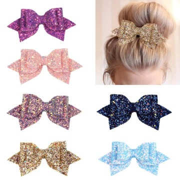 Fast Delivery for velvet hair ties Kordear Glitter Hair Bows 6P supply to Svalbard and Jan Mayen Islands Supplier