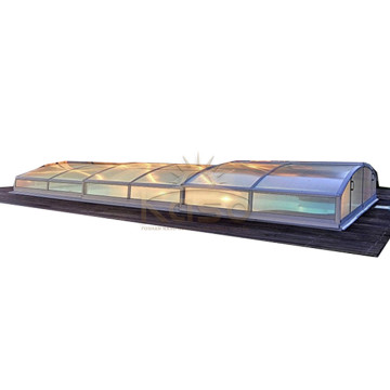 OEM/ODM Supplier for for China Swimming Pool Enclosures,Retractable Pool Enclosure,Retractable Swimming Pool Enclosures Manufacturer Pool Cover Swimming Insulation Inside Lowe Patio Enclosure export to St. Pierre and Miquelon Manufacturers