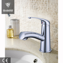 China for Pull Out Basin Faucet,Wash Basin Faucet,Bathroom Faucets,Wall Mount Bathroom Faucet Manufacturer in China Bathroom Fitting Chrome Basin Tap Set export to Portugal Supplier
