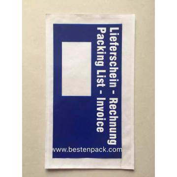 Germany Blue Packing List Envelope