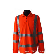 High visibility safety protective shirt