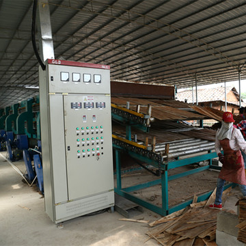 Roller Type Veneer Dryer Machine for Plywood