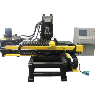 Enhanced CNC Punching and Marking Machine for Plates