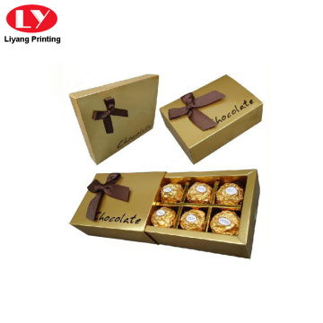 Chocolate paper packaging box for chocolate box