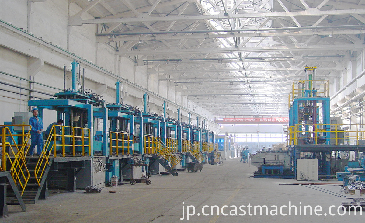 Low Pressure Die Casting Machinery
