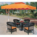 latest design wholesale modern rattan cheap space-saving outdoor dining set