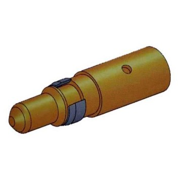 Power Coaxial D-Sub Connector Crimp Male Contact