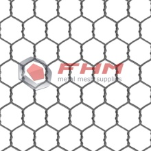 Chicken Wire Galvanized Before Weaving for Garden