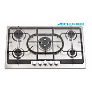 5 Burners S.S Natural Gas Hob