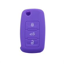 Hot sale for Volkswagen Silicone Key Cover VW Skoda Rubber Car Key Cover export to Spain Manufacturer