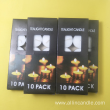 Indonesia market 6hr tea light candles cheap price