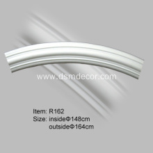 Hot Selling for Buy Home Decoration Ceiling Rims, Curved moldings Online from China Polyurethane Curved Trim Molding supply to Germany Importers