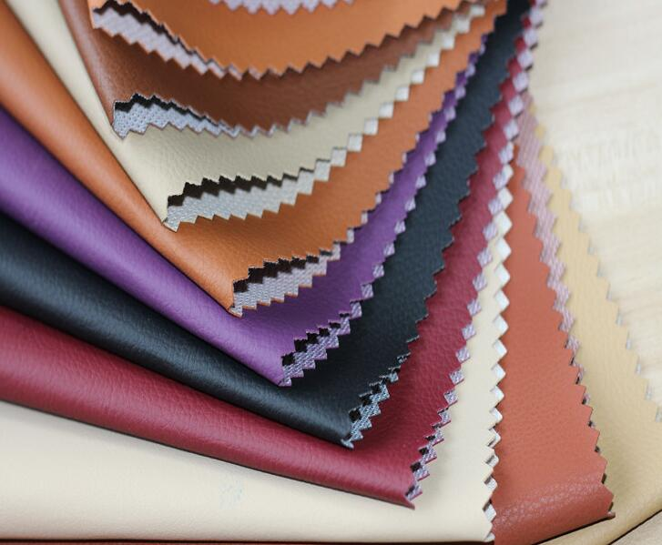 Colorful interior seat leather
