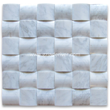 Modern 3d Marble Mosaic for Indoor Decorations
