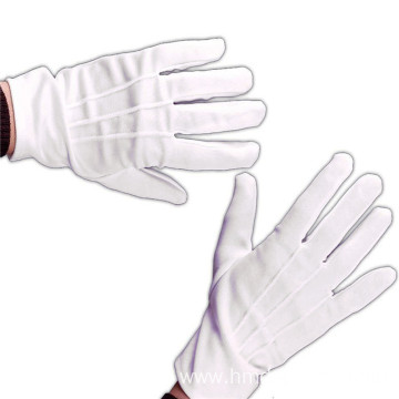 Wear-Resistant Work Cotton Parade Gloves
