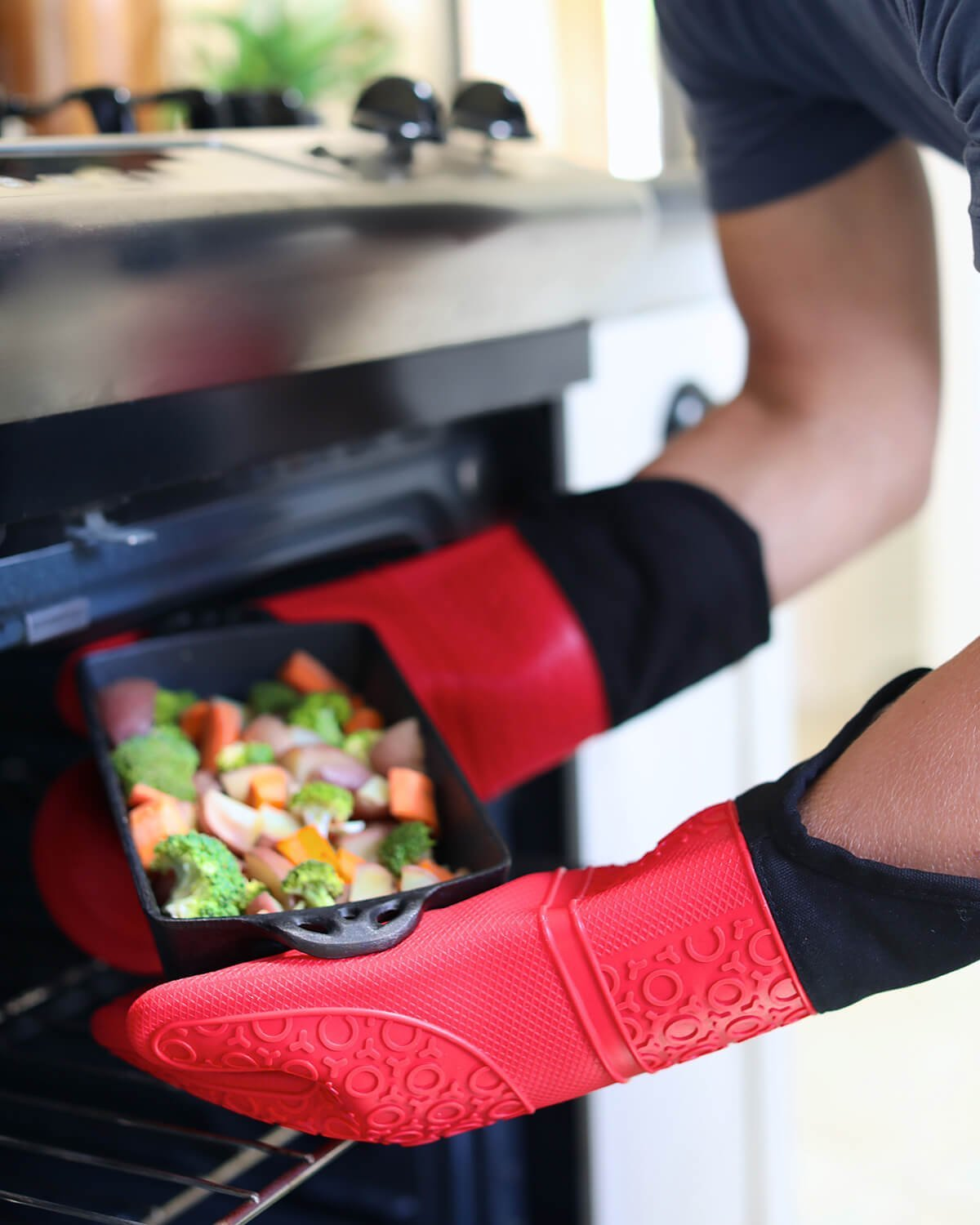 Kitchen Silicone Oven Mitts