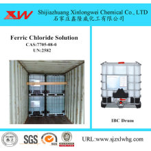 Factory Wholesale PriceList for Industrial Water Treatment Chemicals Industrial Use Ferric Chloride Solution export to India Importers