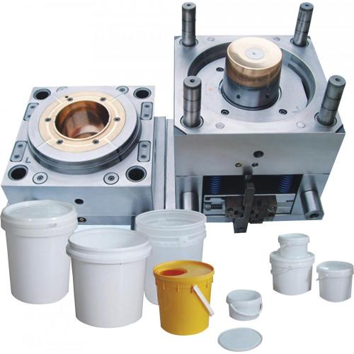 Plastic painting pail and bucket injection mould