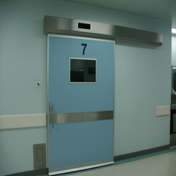 Automatic hospital sliding door