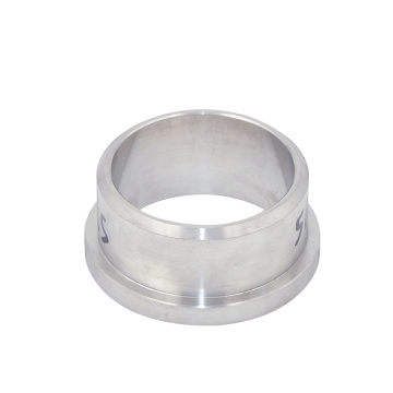 High Purity Flanged Bushing And Sleeve CNC Machining