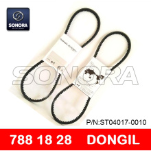 DONGIL DRIVE BELT V BELT 788 x 18 x 28 SCOOTER MOTORCYCLE V BELT (P/N:ST04017-0010) ORIGINAL QUALITY
