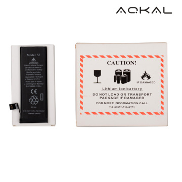 Factory Price for iPhone 5S Battery Pack Replacement Brandnew iPhone SE Replacement Li-ion Battery supply to United States Wholesale