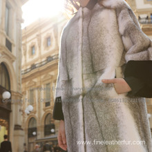 Winter Fur Cross Women Overcoat
