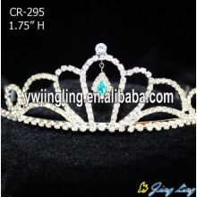 Aqua Crystal Beauty Bridal Wedding Tiaras