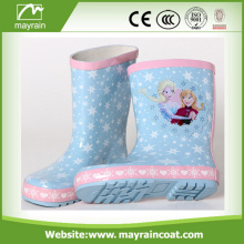 cute popular children new style printed rubber rainboot